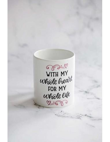 With my Whole Heart - Mug